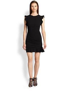 Emilio Pucci Ruffle-Front Dress