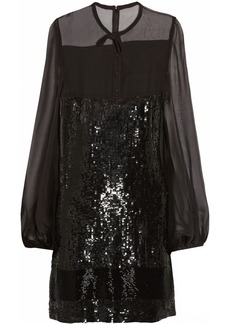 Emilio Pucci Sequined silk-chiffon dress