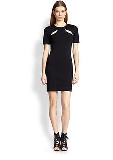 Emilio Pucci Shoulder Cutout Dress