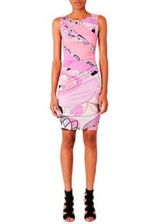 Emilio Pucci Sleeveless Print Dress, Tragara Pink