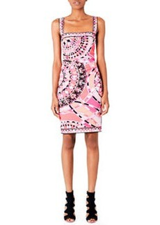 Emilio Pucci Square-Neck Sleeveless Dress