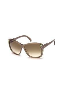 Emilio Pucci Square Ornate Sunglasses
