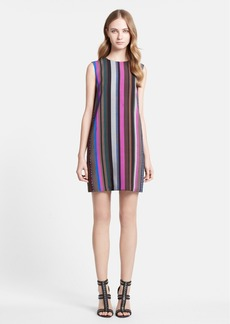 Emilio Pucci Stripe Sleeveless Shift Dress