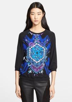 Emilio Pucci Suzani Print Silk Pullover