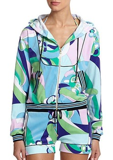 Emilio Pucci Terry Bomber Jacket
