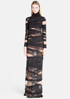 Emilio Pucci Turtleneck Body-Con Gown