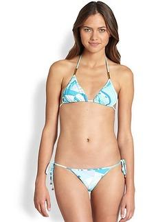 Emilio Pucci Two-Piece Felice Print Bikini Swimsuit