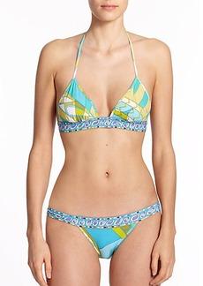 Emilio Pucci Two-Piece Halter Bikini