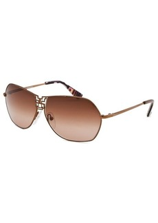 Emilio Pucci Women's Aviator Bronze-Tone Sunglasses