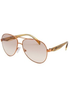 Emilio Pucci Women's Aviator Rose-Tone Sunglasses