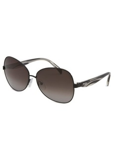 Emilio Pucci Women's Butterfly Black Sunglasses