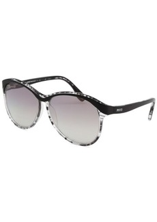 Emilio Pucci Women's Butterfly Onyx Sunglasses