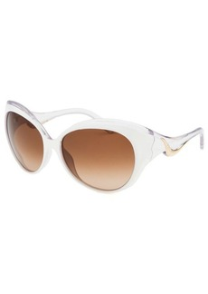 Emilio Pucci Women's Capsule Butterfly White and Translucent Sunglasses