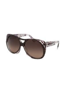 Emilio Pucci Women's Capsule Collection Modified Oval Cocoa Sunglasses