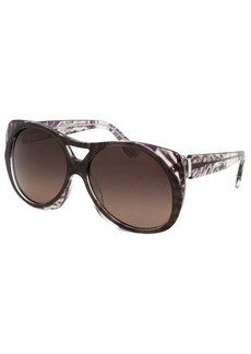 Emilio Pucci Women's Capsule Collection Modified Oval Cocoa Sunglasses