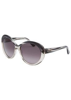 Emilio Pucci Women's Cat Eye Graphite Sunglasses