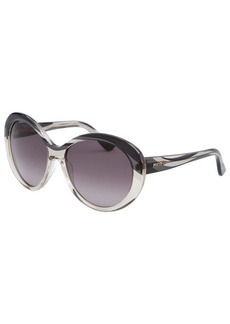 Emilio Pucci Women's Cat Eye Graphite Sunglasses