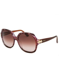 Emilio Pucci Women's Cerchi Square Multi-Color Sunglasses