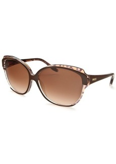 Emilio Pucci Women's Fashion Brown & Leopard Print Sunglasses
