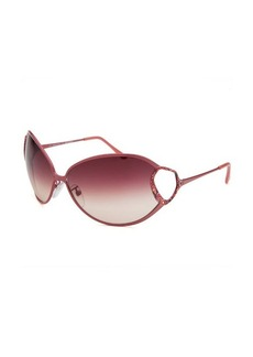 Emilio Pucci Women's Oval Pink Sunglasses