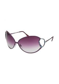 Emilio Pucci Women's Oval Purple Sunglasses