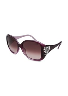 Emilio Pucci Women's Oversized Purple Gradient Sunglasses