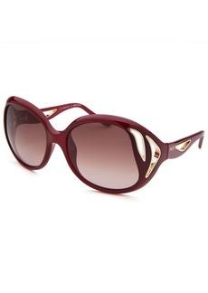 Emilio Pucci Women's Oversized Red Sunglasses