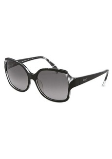 Emilio Pucci Women's Rectangle Black Sunglasses