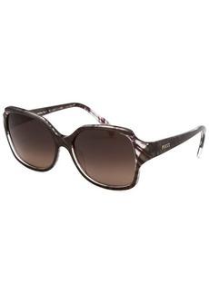 Emilio Pucci Women's Rectangle Cocoa Sunglasses