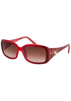 Emilio Pucci Women's Rectangle Red Sunglasses