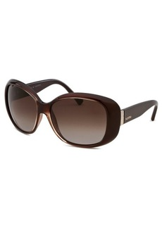 Emilio Pucci Women's Round Brown Sunglasses