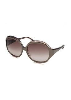 Emilio Pucci Women's Square Beige Sunglasses