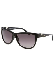 Emilio Pucci Women's Square Black Sunglasses