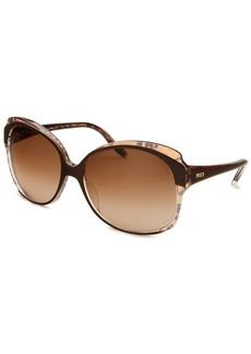 Emilio Pucci Women's Square Brown & Tortoise Sunglasses