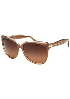 Emilio Pucci Women's Square Brown Sunglasses