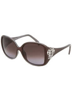 Emilio Pucci Women's Square Grey Gradient Sunglasses