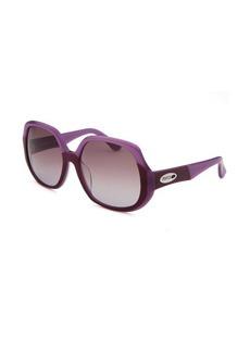 Emilio Pucci Women's Square Light and Dark Purple Sunglasses