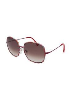 Emilio Pucci Women's Square Multi-Color Sunglasses
