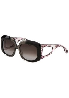 Emilio Pucci Women's Square Multi-Color Sunglasses