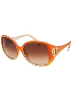 Emilio Pucci Women's Square Orange Sunglasses
