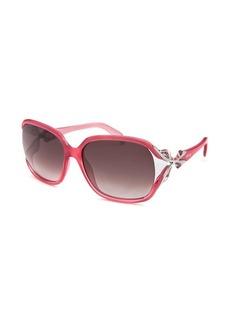 Emilio Pucci Women's Square Pink Sunglasses