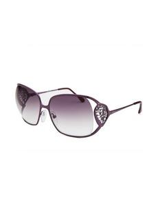 Emilio Pucci Women's Square Purple Sunglasses
