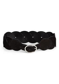 Emilio Pucci Woven Leather Belt