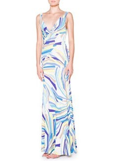 Side-Ruched Tank Maxi Dress   Side-Ruched Tank Maxi Dress