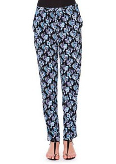 Silk Printed Pants   Silk Printed Pants