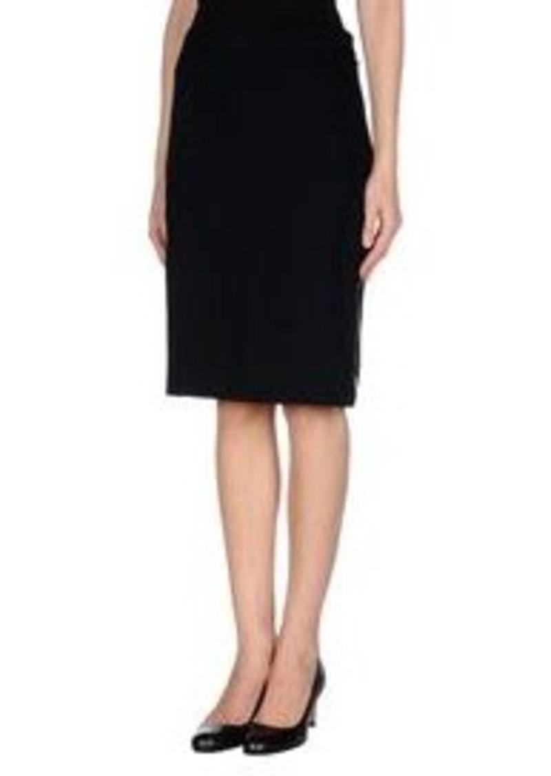 escada escada knee length skirt skirts shop it to me