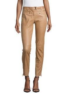 Escada Biker-Style Jeans with Zip Details