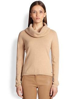 Escada Cashmere Cowl-Neck Sweater