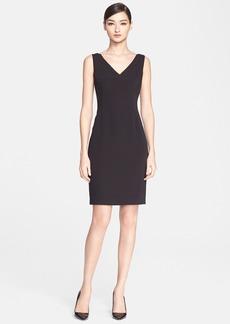 ESCADA 'Desmana' V-Neck Sheath Dress