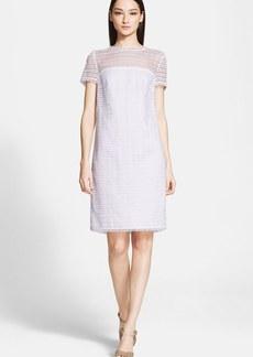 ESCADA Eyelash Lace Shift Dress